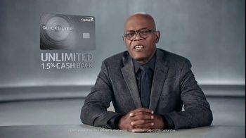 Capital One Quicksilver TV Spot, 'My Bad' Featuring Samuel L. Jackson - Thumbnail 6