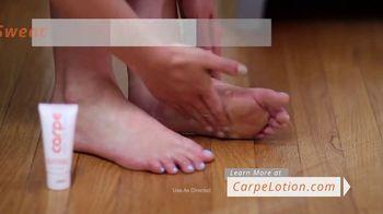 Carpe Hand and Foot Antiperspirant TV Spot, 'Stinky Shoes' - Thumbnail 9