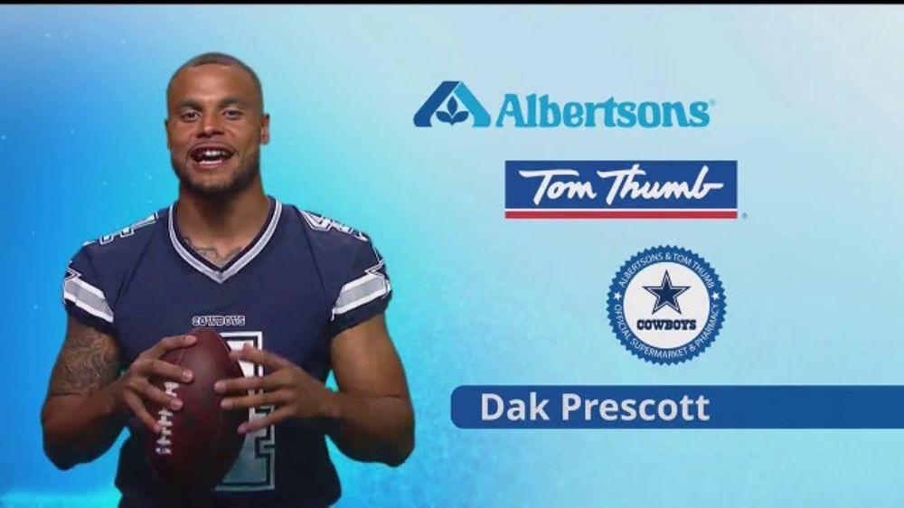 Albertsons TV Commercial, 'Right to Your Doorstep' Featuring Dak Prescott