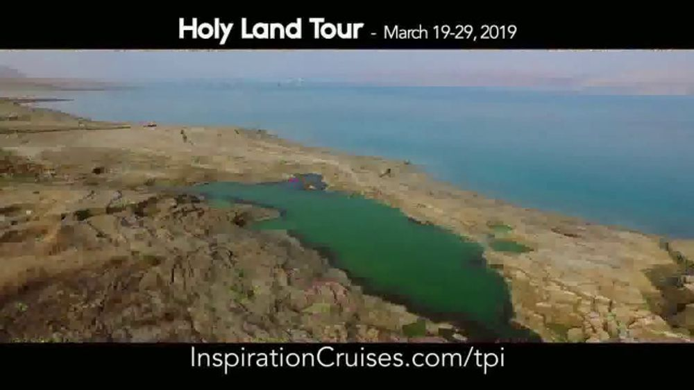 Turning Point with Dr. David Jeremiah TV Commercial, '2019 Holy Land Tour'
