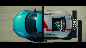 Audi R8 TV Spot, 'Born on the Track' [T1] - Thumbnail 4
