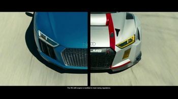 Audi R8 TV Spot, \'Born on the Track\'