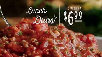 Olive Garden Lunch Duos TV Spot, 'Get in for Lunch' - Thumbnail 3