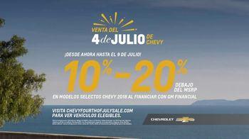 Chevrolet Venta del 4 de Julio TV Spot, 'Por primera vez' [Spanish] [T2] - Thumbnail 5