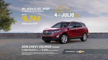 Chevrolet Venta del 4 de Julio TV Spot, 'Por primera vez' [Spanish] [T2] - Thumbnail 7