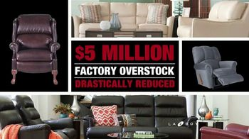 La-Z-Boy Inventory Overstock Sell Off TV Spot, 'Rock Bottom Prices' - Thumbnail 3