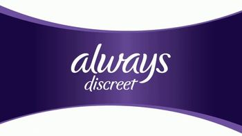 Always Discreet Boutique TV Spot, 'Protected and Pretty' - Thumbnail 1