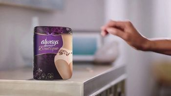Always Discreet Boutique TV Spot, 'Protected and Pretty' - Thumbnail 5