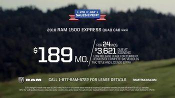 Ram Trucks 4th of July Sales Event TV Spot, 'Show Up' [T2] - Thumbnail 8