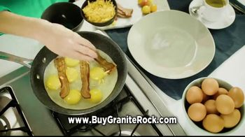 Granite Rock Pan TV Spot, 'Doesn't Stick'