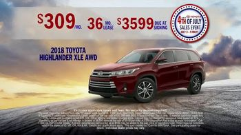 Toyota 4th of July Sales Event TV Spot, 'This Is Big' [T2] - Thumbnail 6