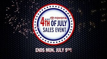 Toyota 4th of July Sales Event TV Spot, 'This Is Big' [T2] - Thumbnail 8