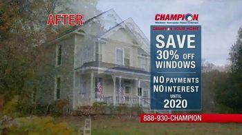 Champion Windows TV Spot, 'Save Big'