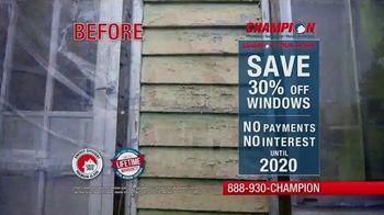 Champion Windows TV Spot, 'Save Big' - Thumbnail 1