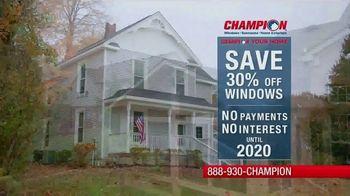 Champion Windows TV Spot, 'Save Big' - Thumbnail 3
