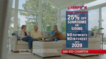 Champion Windows TV Spot, 'Save Big' - Thumbnail 4