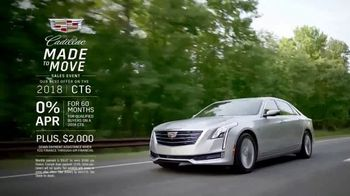 Cadillac Made to Move Sales Event TV Spot, '2018 CT6' [T2] - Thumbnail 10
