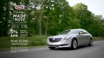 Cadillac Made to Move Sales Event TV Spot, '2018 CT6' [T2] - Thumbnail 8