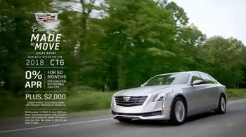 Cadillac Made to Move Sales Event TV Spot, '2018 CT6' [T2] - Thumbnail 9