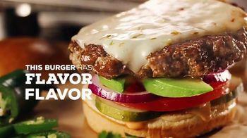 Chili's Alex's Santa Fe Burger TV Spot, 'Flavor on Flavor' - Thumbnail 5