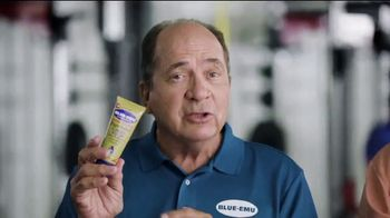 Blue-Emu Pain Relief Cream TV Spot, 'Cold Bath' Feat. Mike Ditka, Johnny Bench - Thumbnail 3