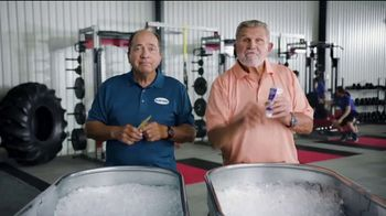 Blue-Emu Pain Relief Cream TV Spot, 'Cold Bath' Feat. Mike Ditka, Johnny Bench
