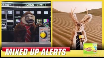 Lunchables TV Spot, 'Mixed Up Alerts: Live on the Scene'