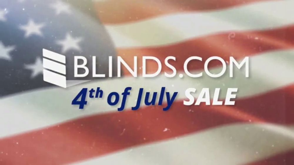 Blinds.com 4th of July Sale TV Commercial, 'Save on Everything'