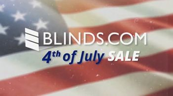 Blinds.com 4th of July Sale TV Spot, 'Save on Everything'