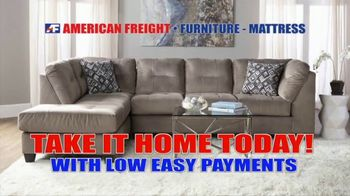 American Freight Savings by the Truckload TV Spot, 'Take it Home Today'
