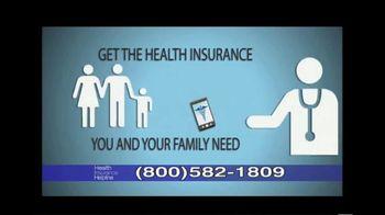Health Insurance Helpline TV Spot, 'Health Advisor'