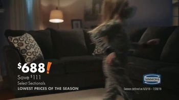 Big Lots Fourth of July Deals TV Spot, 'Serving Families: Sectionals' - Thumbnail 8