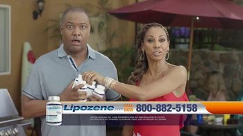 Lipozene TV Spot, 'Bikini Season' Feat. Holly Robinson Peete, Rodney Peete