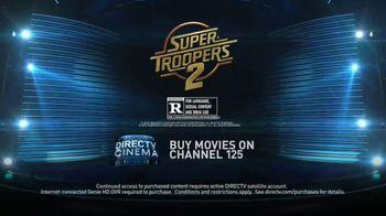 DIRECTV Cinema TV Spot, 'Super Troopers 2' - Thumbnail 10