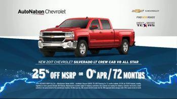 AutoNation 72 Hour Flash Sale TV Spot, '2017 Chevrolet: Battery Warranty' - Thumbnail 4