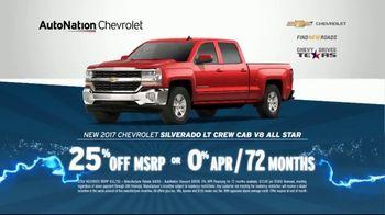 AutoNation 72 Hour Flash Sale TV Spot, '2017 Chevrolet: Battery Warranty' - Thumbnail 5