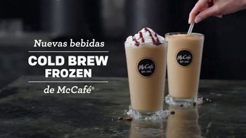 McCafe Cold Brew Frappé y Frozen Coffee TV Spot, 'Más frío' [Spanish] - Thumbnail 2