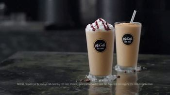McCafe Cold Brew Frappé y Frozen Coffee TV Spot, 'Más frío' [Spanish] - Thumbnail 7