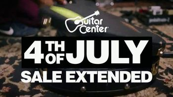 Guitar Center 4th of July Sale TV Spot, 'Extended' Song by Chicano Batman - Thumbnail 1