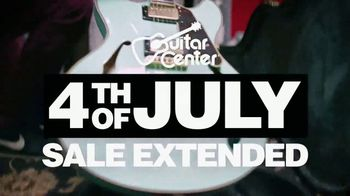Guitar Center 4th of July Sale TV Spot, 'Extended' Song by Chicano Batman - Thumbnail 2