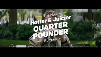 McDonald's Quarter Pounder TV Spot, 'Comedy Central: The Daily Show' - Thumbnail 10