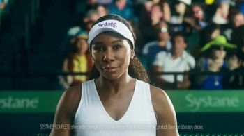 Novartis Systane Complete TV Spot, 'Hit Right Back' Feat. Venus Williams - Thumbnail 6