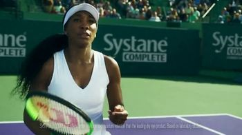 SYSTANE Complete TV Spot, 'Hit Right Back' Feat. Venus Williams