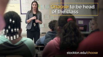 Stockton University TV Spot, 'Head of the Class' - Thumbnail 1