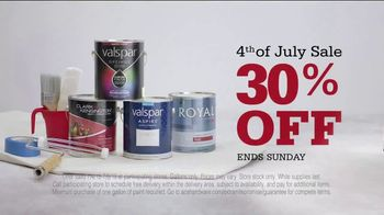 ACE Hardware 4th of July Sale TV Spot, '30 Percent Off Paint' - Thumbnail 3