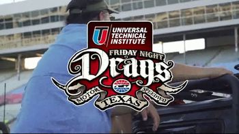 Universal Technical Institute Friday Night Drag TV Spot, 'Every Friday'