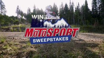 MotoSport Sweepstakes TV Spot, 'Upgrades, Riding Gear and a Trip' - Thumbnail 2