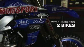 MotoSport Sweepstakes TV Spot, 'Upgrades, Riding Gear and a Trip' - Thumbnail 3