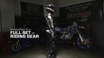 MotoSport Sweepstakes TV Spot, 'Upgrades, Riding Gear and a Trip' - Thumbnail 6
