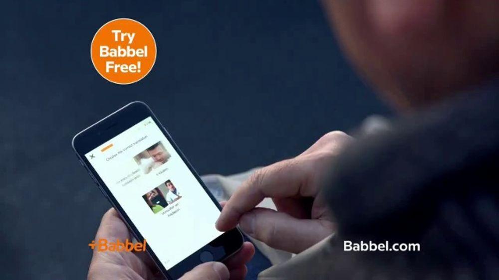 Babbel TV Commercial, 'Try Babbel Free'